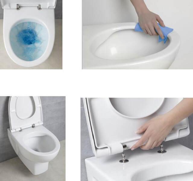 туалет без ободка