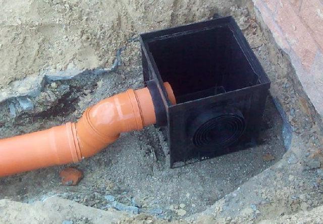 приемник для ливневой канализации