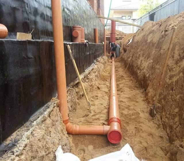водоотведение на участке