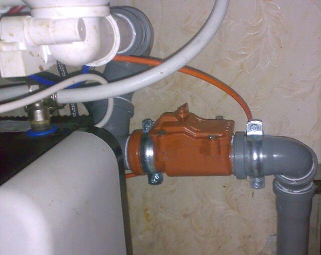 шаровый обратный клапан для канализации