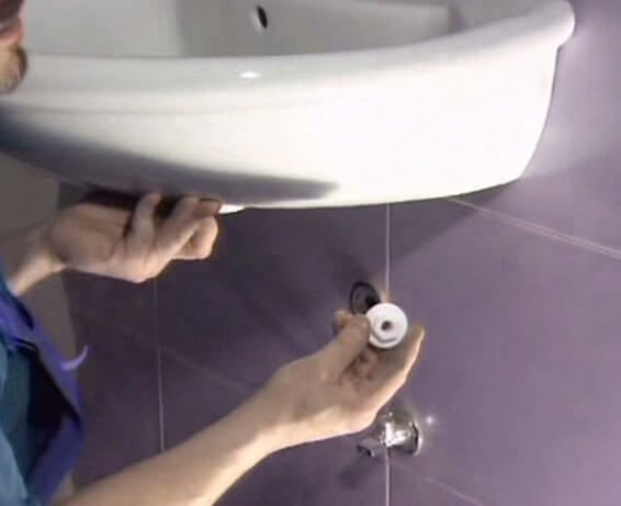 диаметр канализационной трубы для раковины