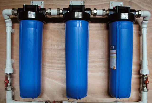 установка фильтра для воды