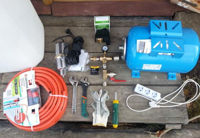 схема подключения гидроаккумулятора к системе водоснабжения