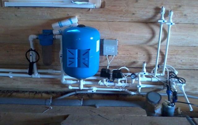 система водоснабжения в частном доме из скважины