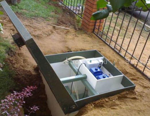 локальная канализация в частном доме устройство