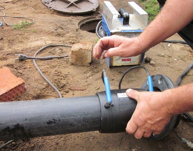 трубопроводы канализации из полиэтиленовых труб высокой плотности