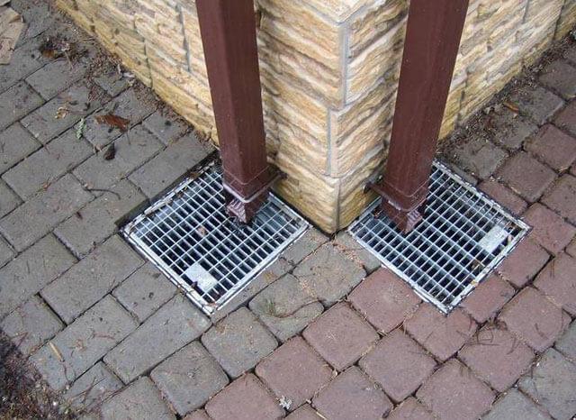 устройство дождеприемника для ливневой канализации