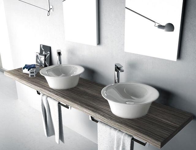 раковина в ванную комнату с тумбой размеры