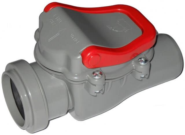 обратный клапан для напорной канализации