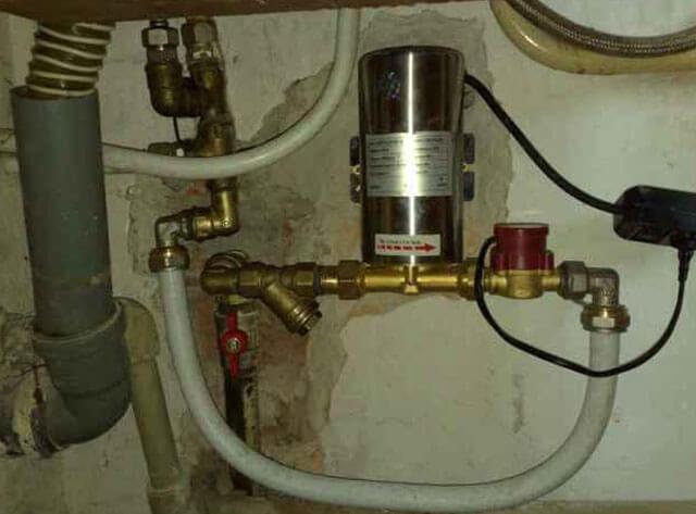 насос повышающий давление воды