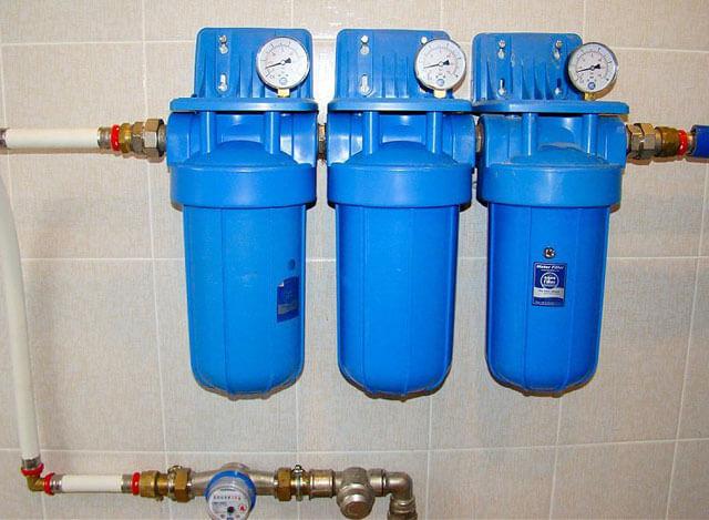 фильтр для воды на трубопровод