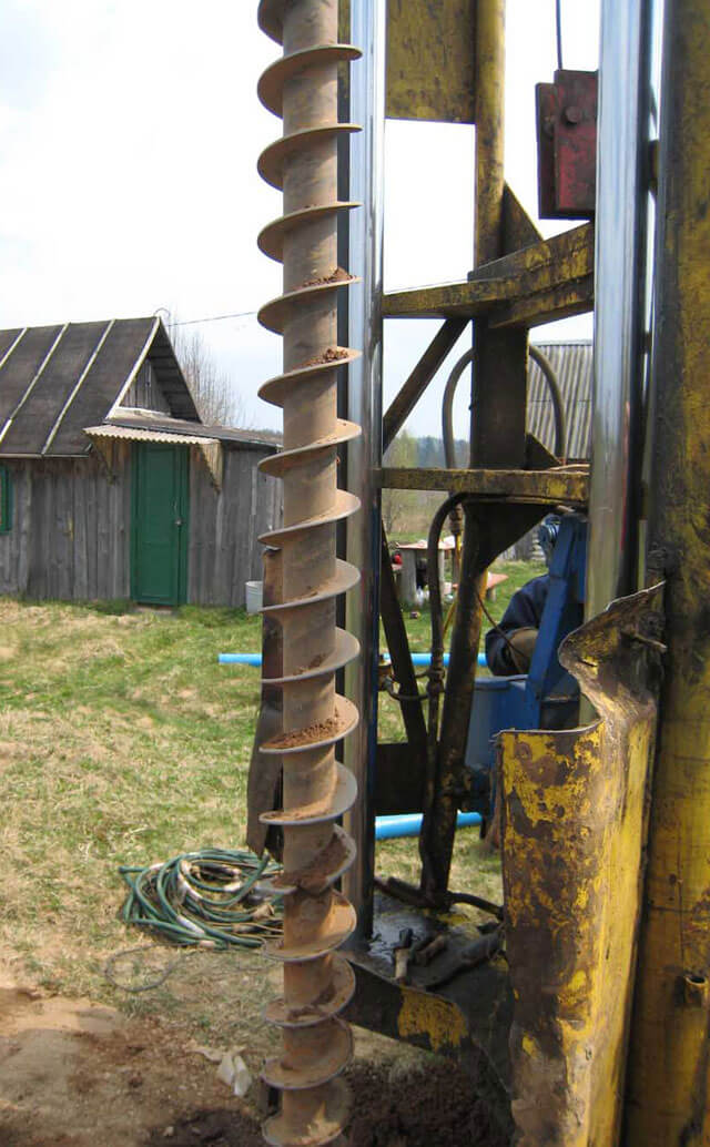 работы по бурению скважин на воду