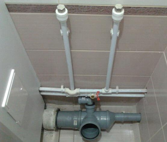 диаметр канализационных труб в квартире