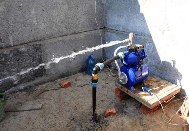насосная станция для дачи для скважины