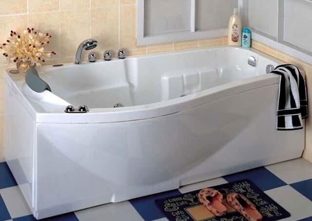 как заделать скол эмали в ванной