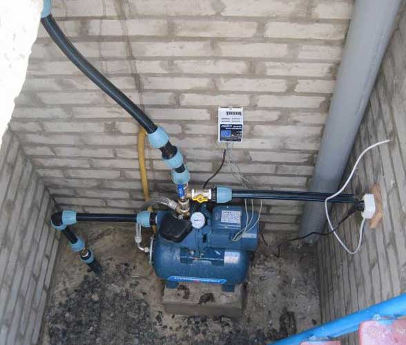 насос для колодца для водоснабжения дома