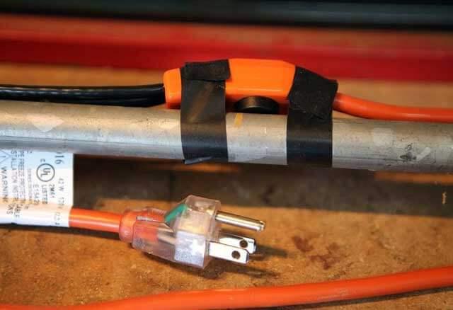 кабель греющий саморегулируемый для водопровода