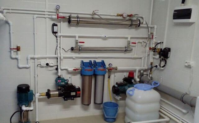 водопровод от скважины в дом своими руками