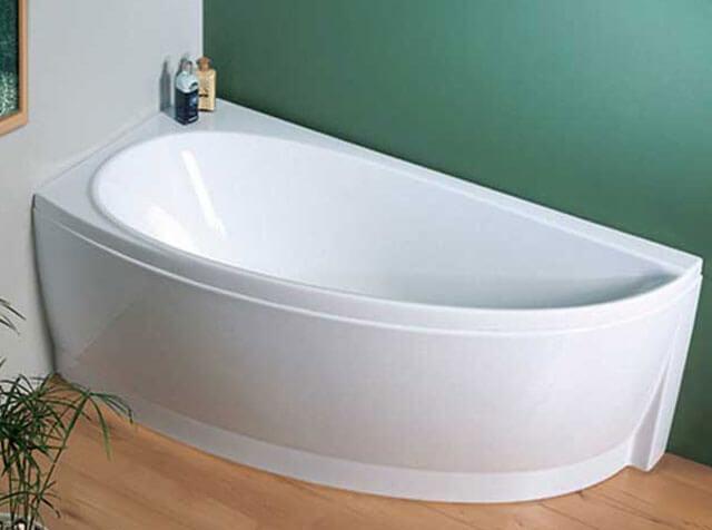 как правильно установить ванную