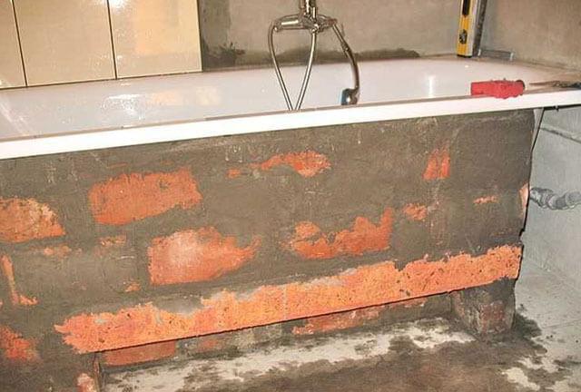 щит под ванну