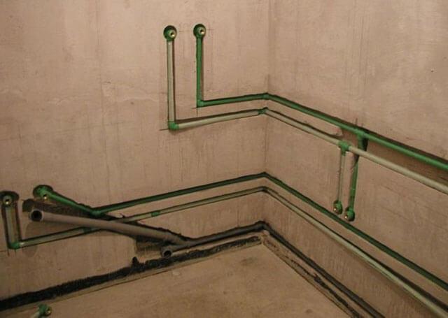 разводка труб водоснабжения в квартире