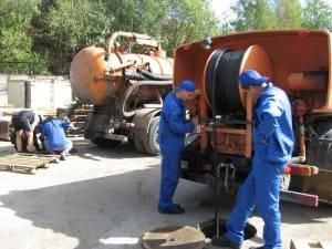 Очищение канализации