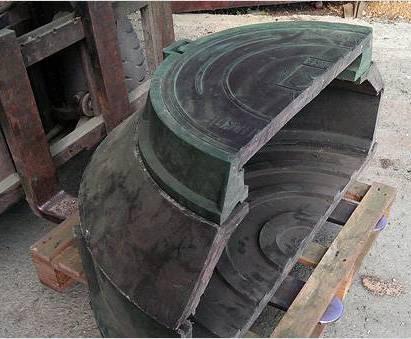 Полимерно песчаный колодец в разрезе