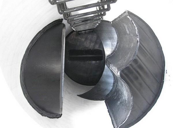 Пластины гасят скорость идавление стоков