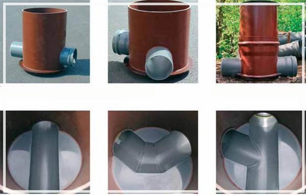 Колодцы для ревизии трубопровода