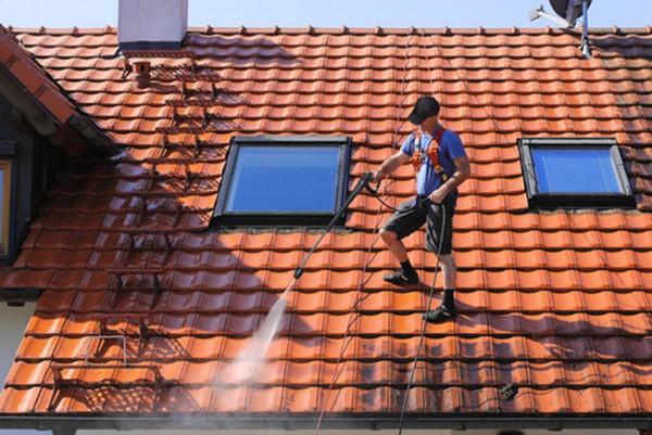 Мытье крыши