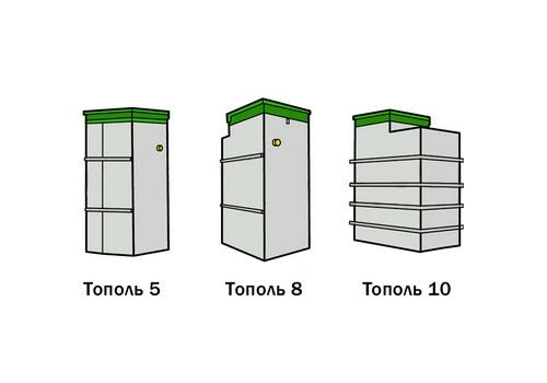Модели Тополя