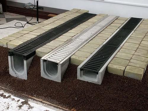 Водоотведение из бетона
